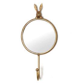 Konijn spiegeltje