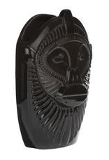 Design vaas van keramiek in de vorm van een aap