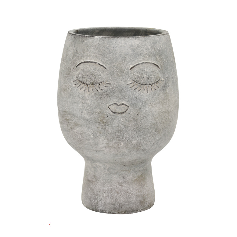 Cement face planter