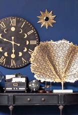 Gouden retro design zonnespiegel