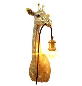 Giraffe wandlamp