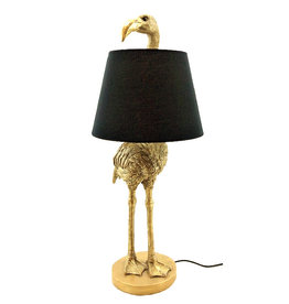 Flamingo table lamp with lampshade