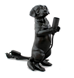Table lamp / Dachshund puppy