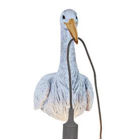 Stork wall light / Light blue
