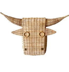 Rattan bull head