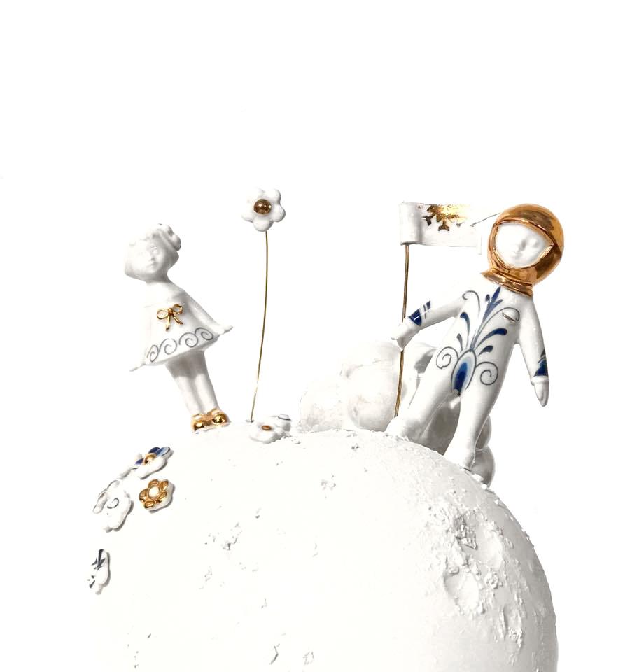 "Vase ""Walking on Sunshine"" by Lammers en Lammers"