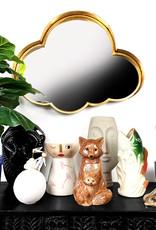 Modern design ceramic face vase