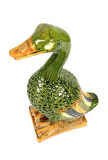 Porcelain duck figure