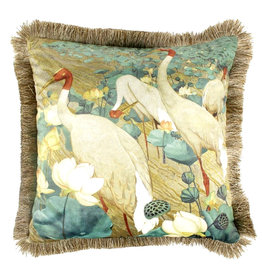 Cushion / Crane Birds