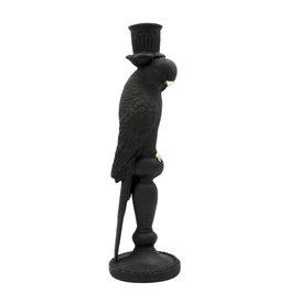 Parrot candlestick