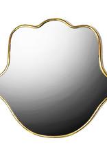 Gouden Hamsa hand spiegel