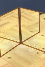 Gouden tafelspiegel