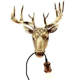 Deer wall light