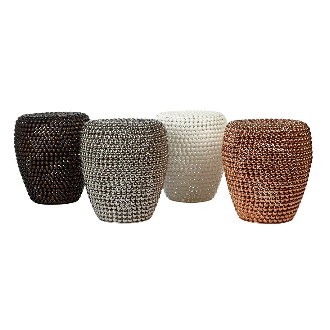 """Koper metaal design bijzettafel """"Dot"""""""