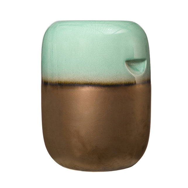 """Ceramic side table or stool """"Pill"""""""