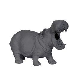 Hippo Tafellamp / Grijs / S