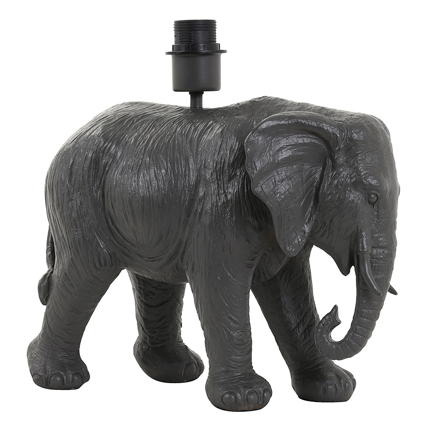 Design tafellamp in de vorm van een olifant
