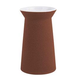 Vase / Cone / Brick Red