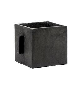 Vierkante bloempot / S