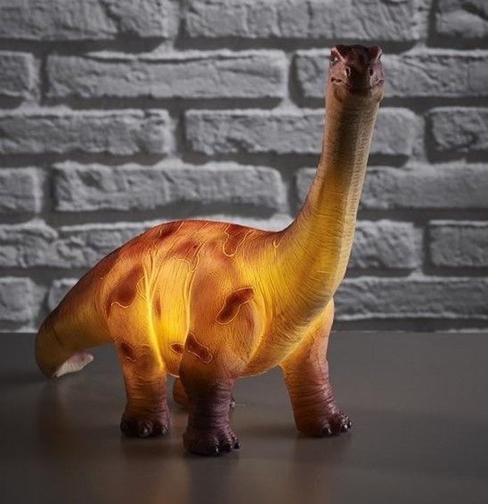Brontosaur dino lamp