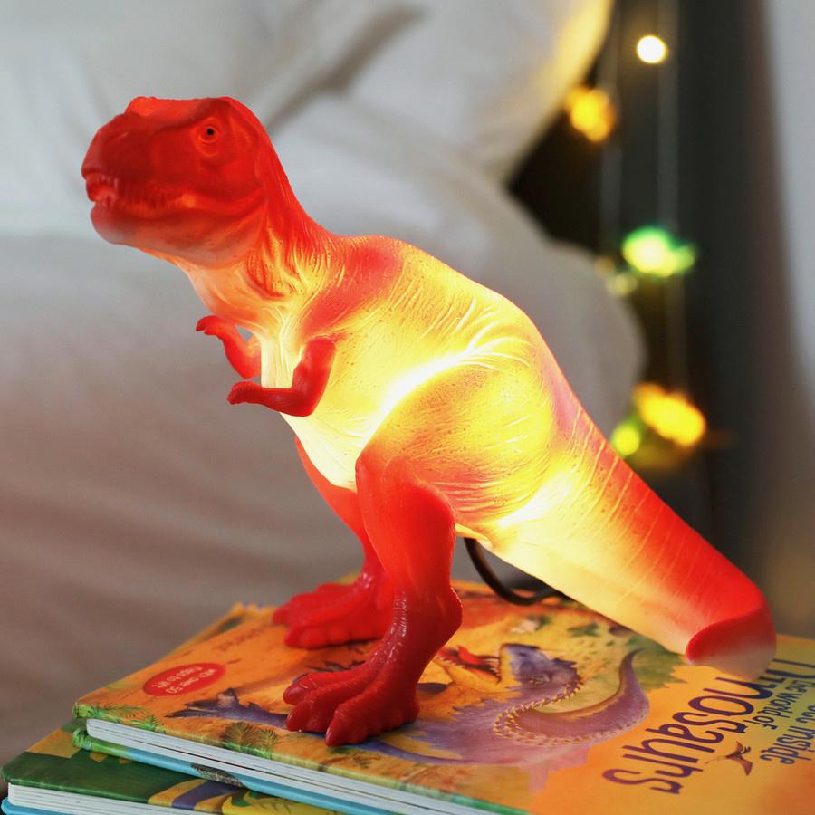T-rex dinosaurus lamp