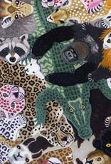 Large panda bear rug