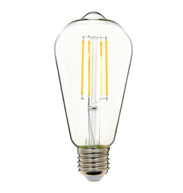 Retro LED light bulb / Clear / 6W