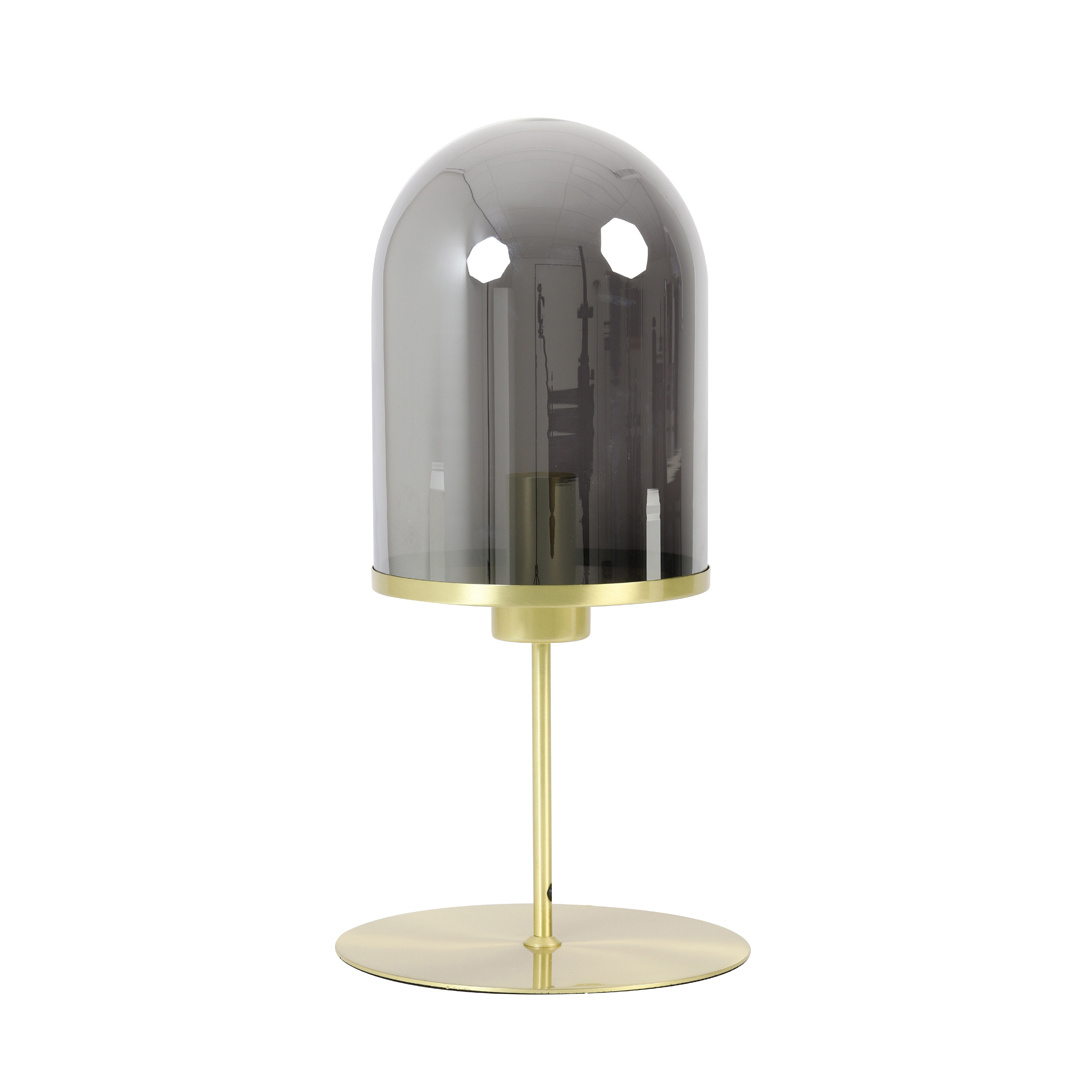 """Modern design gold table lamp """"Mack"""""""