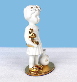Limited doll / Vase / Gold