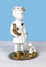 Limited edtion doll with lamb from Lammers and Lammers