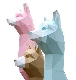 Mint Paper Alpaca