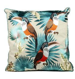 Cushion / Toucans