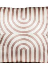 Luxe sierkussen met bogen patroon