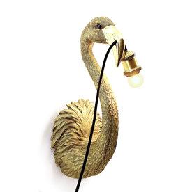 Flamingo wandlamp