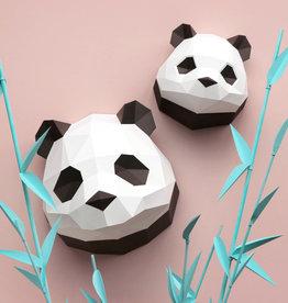Papieren baby panda