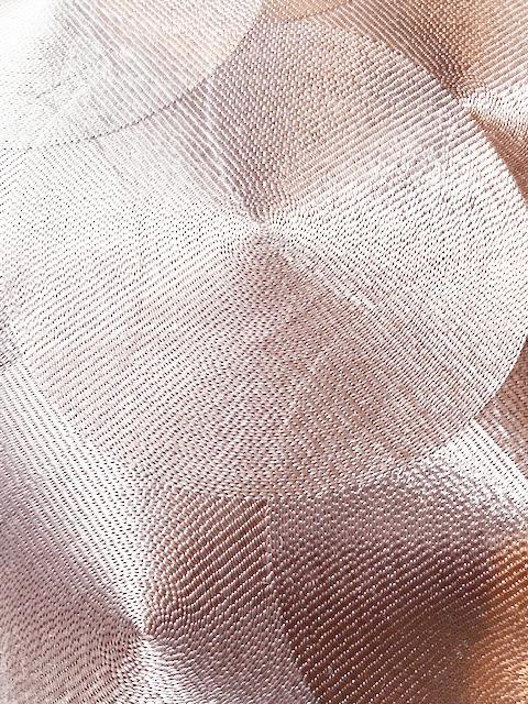 Pink metallic luxury cushion