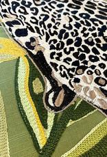 Luxe sierkussen met luipaard print