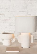 Modern design paper mache lamp