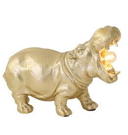 Hippo Tafellamp / Goud / L