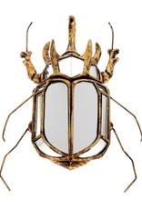Gouden scarabee spiegel
