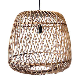 Rattan pendant light / 1