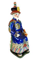 Chinese keizer beeld van keramiek