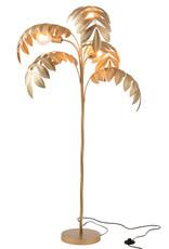 Gouden palmboom vloerlamp