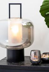 "Modern black table lamp ""Iga"""