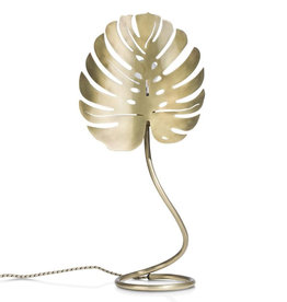 Monstera lamp