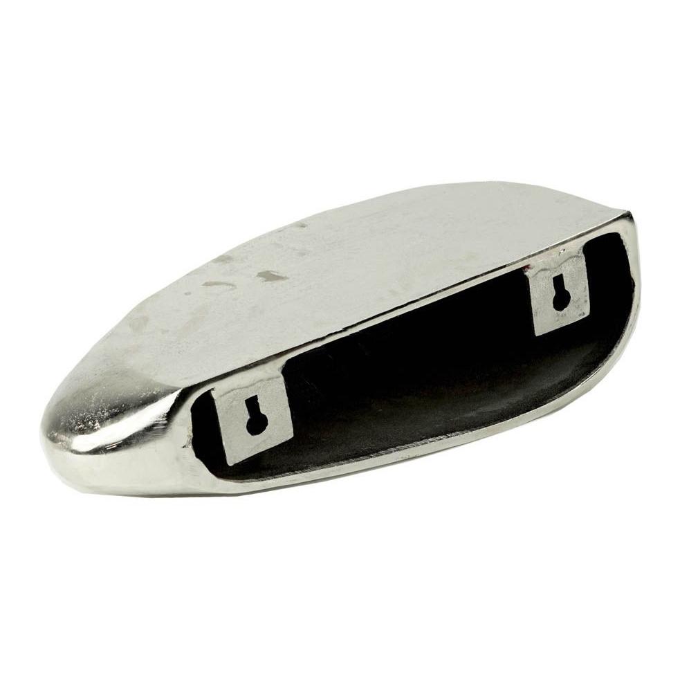 """Goud metaal design wandplank """"Rock"""""""