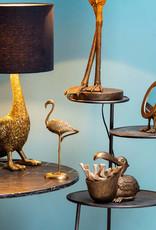 Vintage stijl gouden pelikaan box