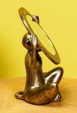 Gouden aap spiegeltje