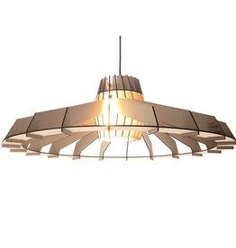 Houten hanglamp / Naturel