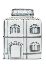 "Ceramic container jar with lid ""Rome"""
